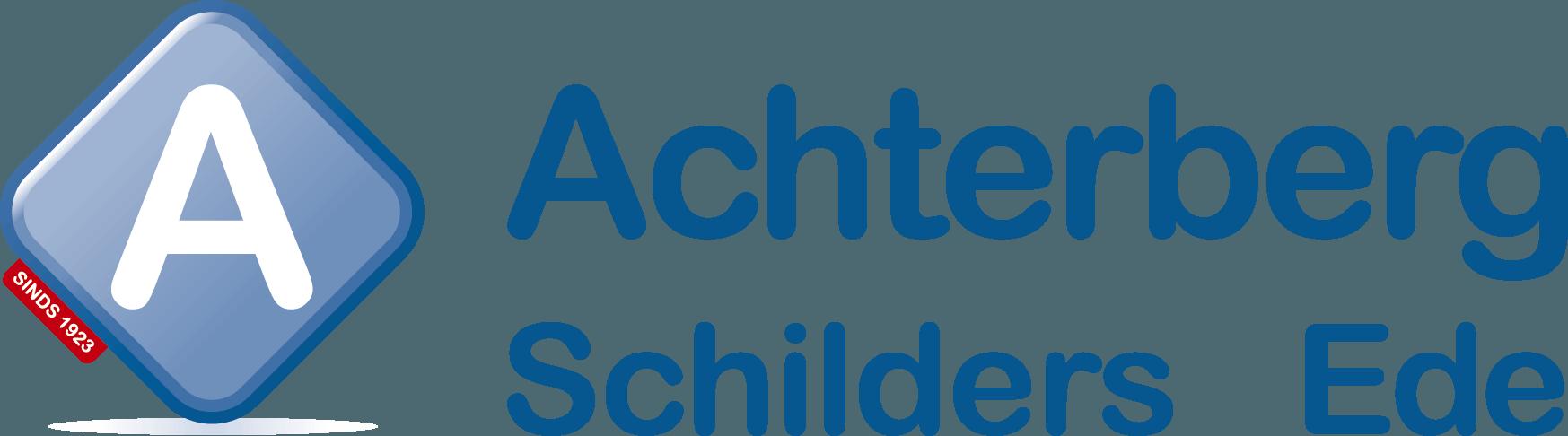 Achterberg schilders logo